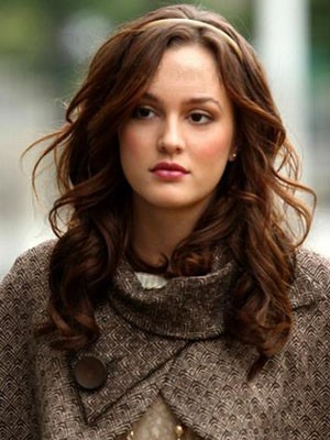Blair Waldorf Hairstyle Human Hair Lace Front Wig