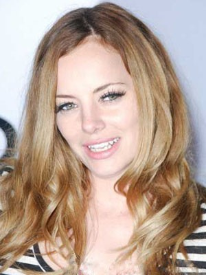 Bijou Phillips Lace Front Synthetic Striking Straight Wig
