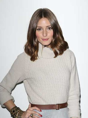 Olivia Palermo Style Synthetic Straight Lace Front Wig