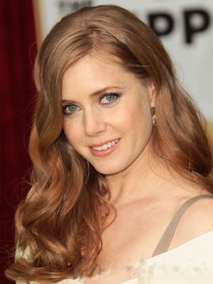 Amy Adams Gorgeous Synthetic Lace Front Wig