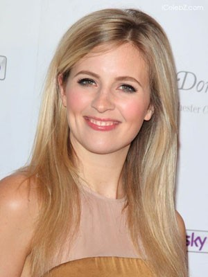 Alison Balsom Glamorous Lace Front Straight Synthetic Wig