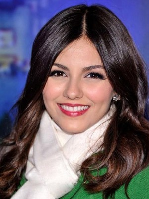 Victoria Justice Hairstyle Full Lace Celebrity Wig