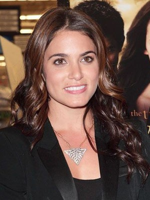 Nikki Reed Smooth Lace Front Synthetic Wavy Wig