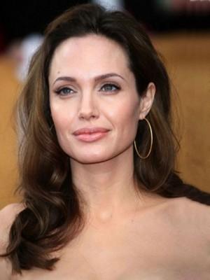 Angelina's Glamous Full Lace Wavy Celebrity Wig