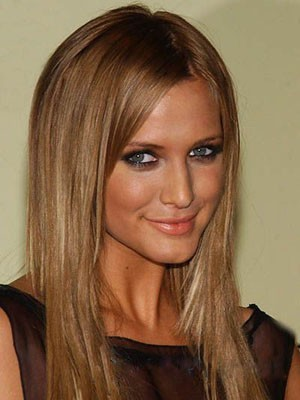 Ashlee Simpson Prodigious Synthetic Straight Lace Front Wig
