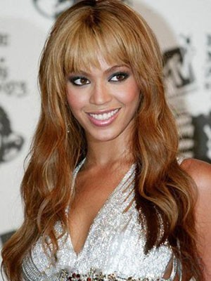 Beyonce Dazzling Capless Synthetic Wavy Wig