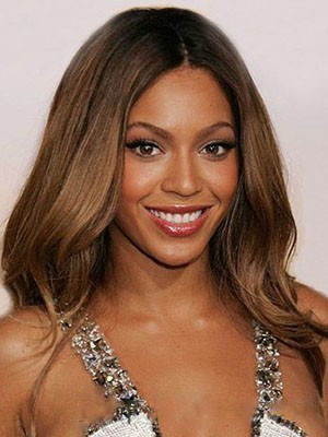 Beyonce Flattering Lace Front Human Hair Wig