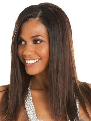 Marvelous Lace Front Straight Human Hair Wig