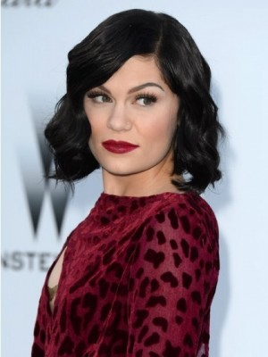Jessie J Lace Remy Human Hair Celebrity Wig