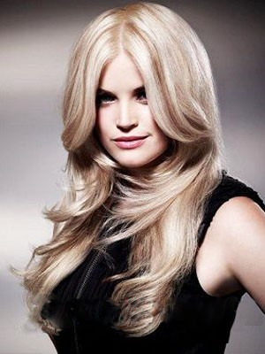 Brilliant Synthetic Lace Front Straight Wig