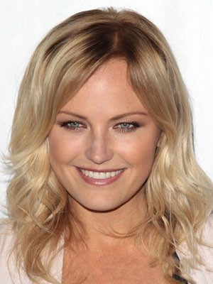 Malin Akerman Classic Lace Front Wavy Synthetic Wig