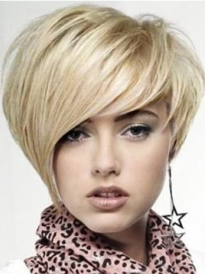 Full Lace Straight Short Celebrity Wig