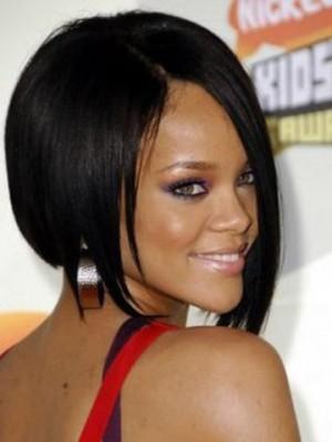 Rihanna Short Straight Full Lace Celebrity Wig