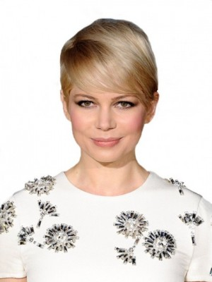 Michelle Williams Nice-looking Synthetic Straight Full Lace Wig