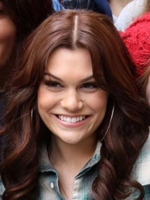 Jessie J High Quality Synthetic Wavy Lace Front Wig