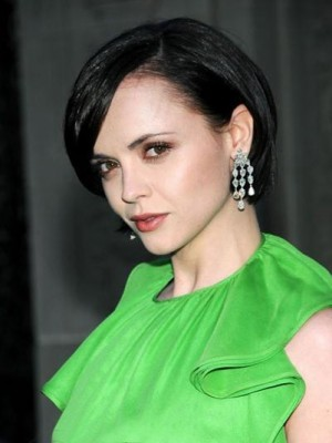 Christina Ricci Polished Short Straight Lace Celebrity Celebrity Wig