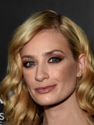Beth Behrs Fashionable Lace Front Synthetic Wavy Wig