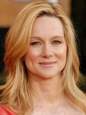 Laura Linney Popular Lace Front Human Hair Straight Wig