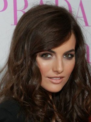 Camilla Belle Synthetic Lace Front Wavy Wig