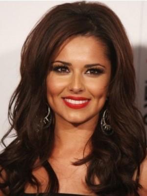Cheryl Cole Long Wavy Human Hair Celebrity Wig