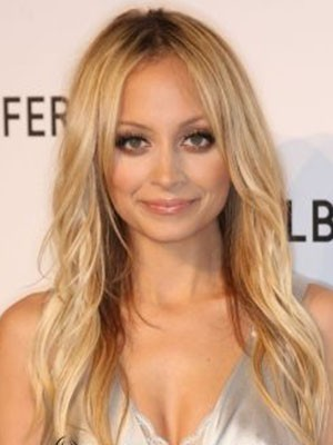 Nicole Richie Dazzling Lace Front Straight Synthetic Wig