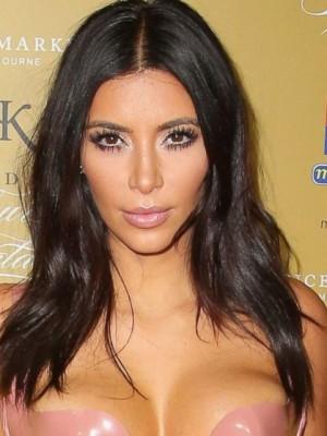 Long Mid-part Celebrity Wig