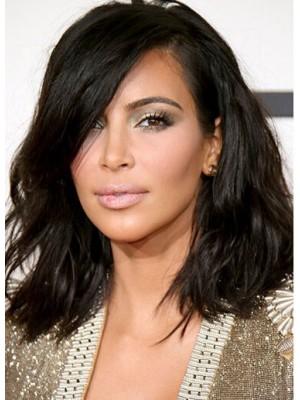 Medium Lace Remy Hair Wig