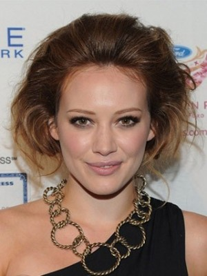 Hilary Duff's Hairstyle Lace Celebrity Wig