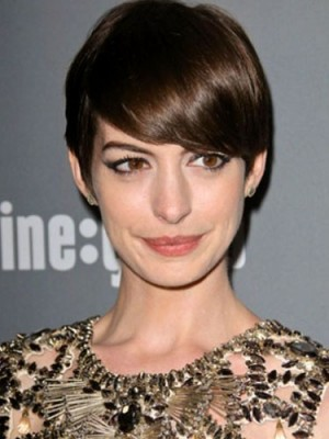 Straight Capless Synthetic Short Wig
