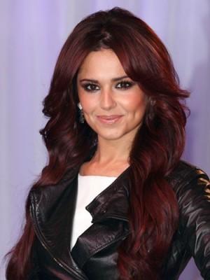 Sweet Cheryl Cole Human Hair Mono Celebrity Wig