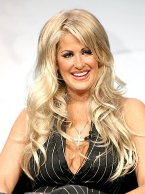 Kim Zolciak Classic Wavy Lace Front Human Hair Wig