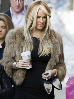 Kim Zolciak Wonderful Straight Lace Front Synthetic Wig