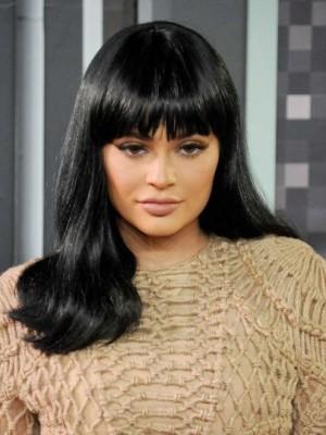 Kylie Jenner Miraculous Straight Capless Human Hair Wig