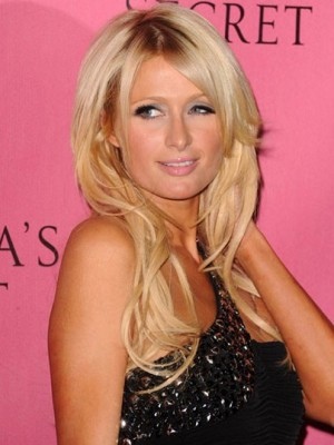 Paris Hilton Elegant Synthetic Wavy Lace Front Wig