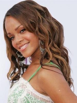 Rihaana's Human Hair Long Wavy Celebrity Wig