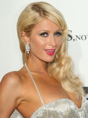 Paris Hilton Most Popular Human Hair Wavy Lace Front Wig