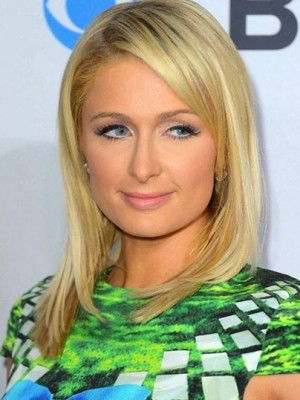 Paris Hilton Amazing Lace Front Straight Human Hair Wig