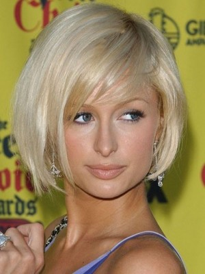 Paris Hilton Pretty Capless Straight Human Hair Wig