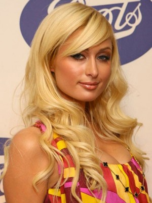 Paris Hilton Comfortable Synthetic Wavy Capless Wig