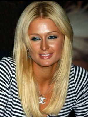 Paris Hilton Most Popular Human Hair Straight Lace Front Wig