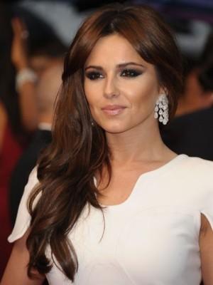 Cheryl Cole 100% Remy Human Hair Mono Celebrity Wig