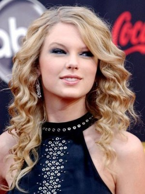 Taylor Swift Nice Synthetic Wavy Lace Front Wig