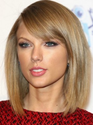Taylor Swift Gorgeous Straight Lace Front Synthetic Wig