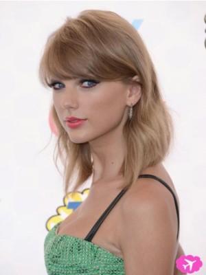 Taylor Swift Classic Straight Capless Human Hair Wig