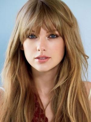 Taylor Swift Voluminous Straight Capless Human Hair Wig