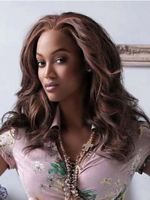 Tyra Banks Marvelous Wavy Lace Front Human Hair Wig