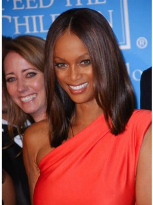 Tyra Banks Marvelous Straight Lace Front Synthetic Wig