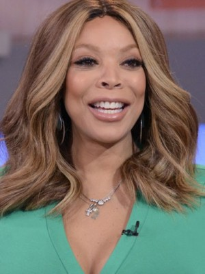 Most Popular Wendy Williams Wavy Remy Human Hair Lace Front Wig