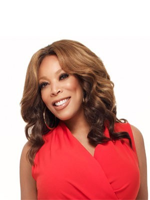 Fashion Wendy Williams Wavy Remy Human Hair Lace Front Wig