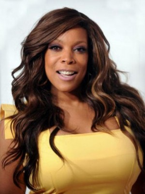 Comfortable Wendy Williams Wavy Remy Human Hair Lace Front Wig